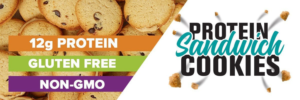 buff bake protein sandwich cookie
