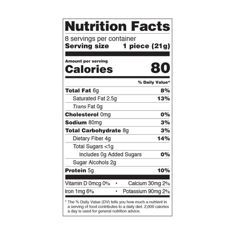 Quest Nutrition Candy Bites Gooey Caramel Protein Label Ingredients Facts