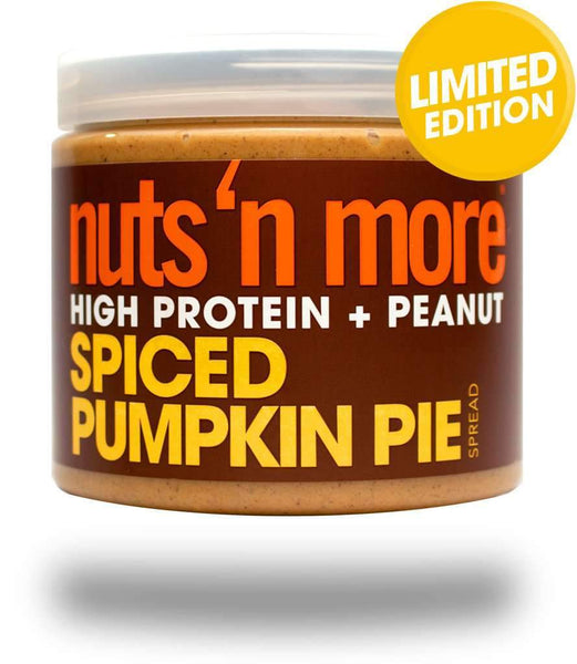 Nuts 'n more High Protein + peanut spiced pumpkin pie spread