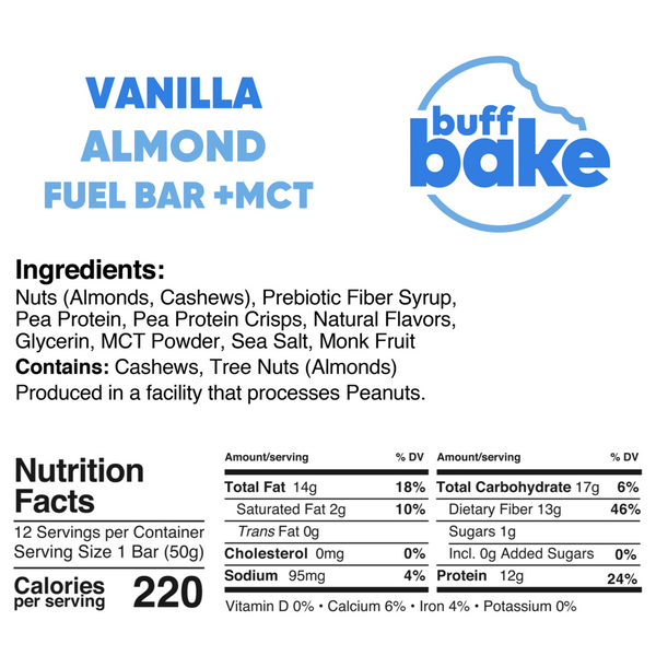 Quest Nutrition Vanilla Almond Fuel Bar