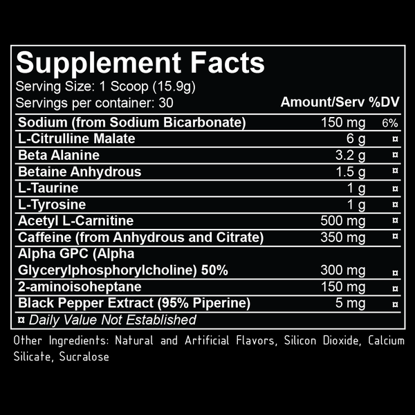 repp sports broken arrow nutrition facts label