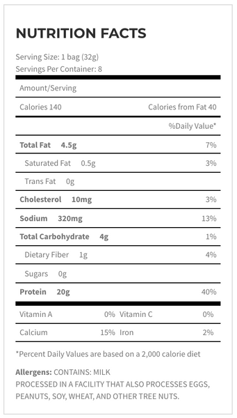 quest chili lime protein chips nutrition facts