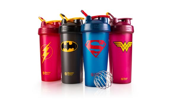 Blenderbottle DC Comics Superhero limited edition bottles