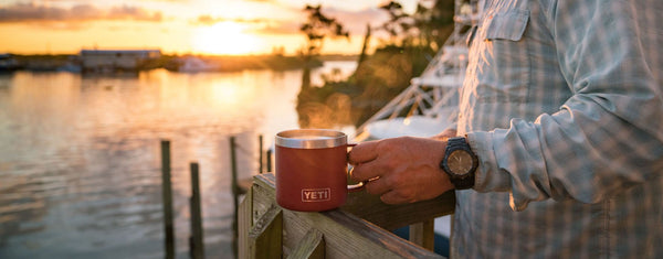 Yeti 14oz Mug Rambler Stainless Steel Insulated Cup