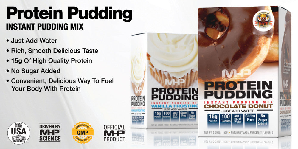 mhp instant protein pudding mix sale
