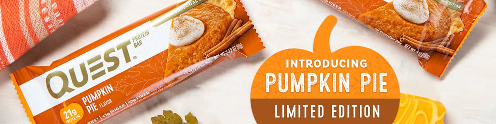 Quest Nutrition Pumpkin Pie Bar Seasonal Flavor