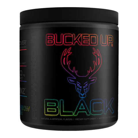 Bucked Up - Black Series - Pre-Workout (Select Flavor)