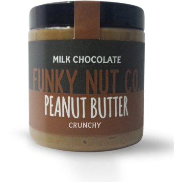 Funky Nut Co. Milk Chocolate Peanut Butter