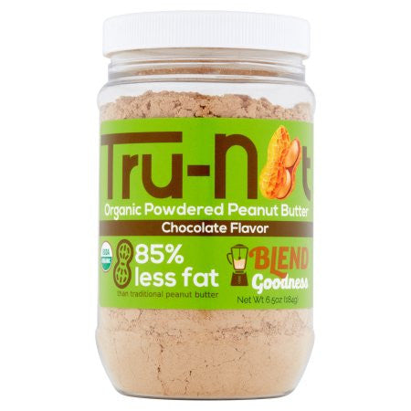 Tru-Nut Organic Powdered Peanut Butter - 6.5oz Chocolate