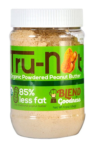 Tru-Nut Organic Powdered Peanut Butter - 6.5oz Original