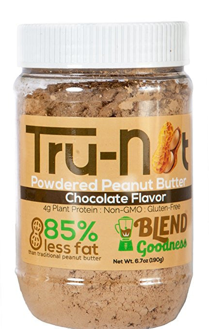 Tru-Nut Powdered Peanut Butter - 6.7oz Chocolate