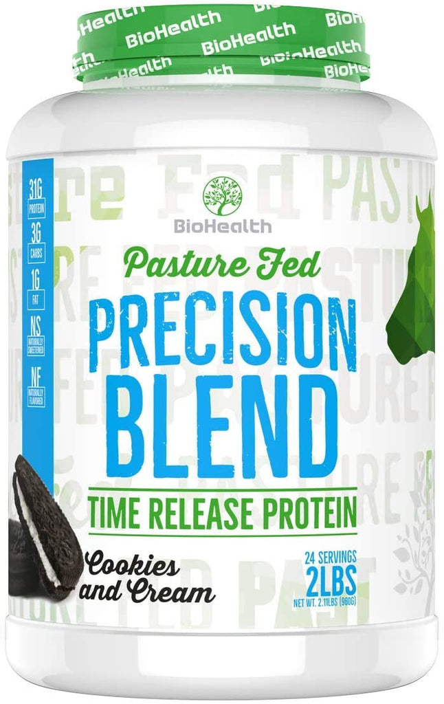 BioHealth Precision Blend - Time Release Protein Cookies & Cream