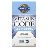 Garden Of Life Vitamin Code - Whole Food Vitamin For 50 & Wiser Men (Choose Size)
