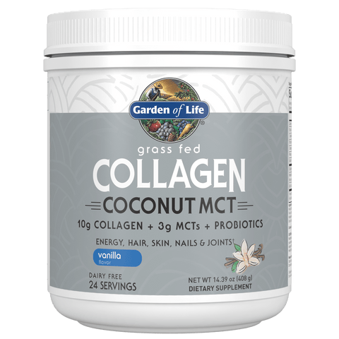 Garden of Life Collagen Coconut MCT (Select Flavor)