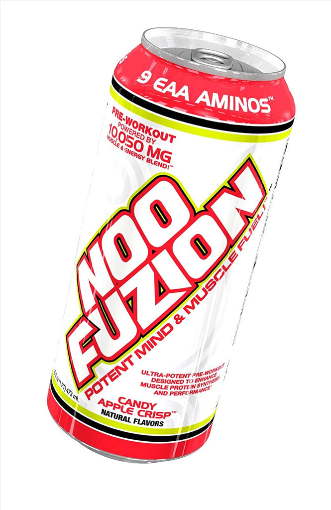 VPX Noo Fuzion 16oz Can Energy Drink - Candy Apple Crisp