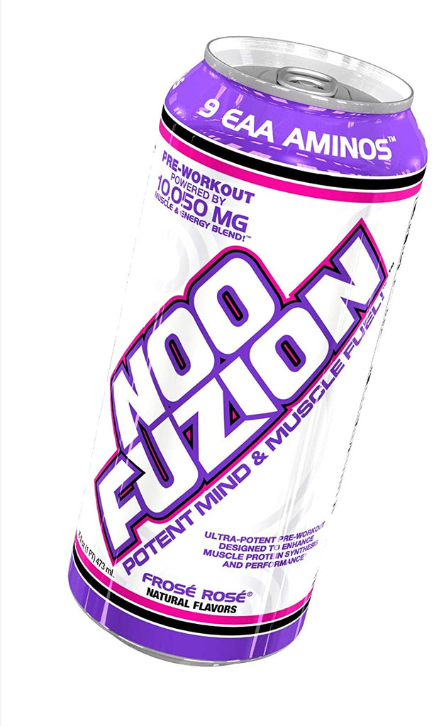 VPX Noo Fuzion 16oz Can Energy Drink - Frose Rose