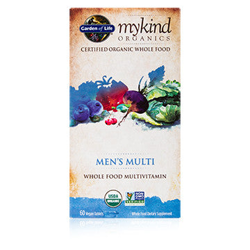 Garden of Life mykind Mens Multi 60ct