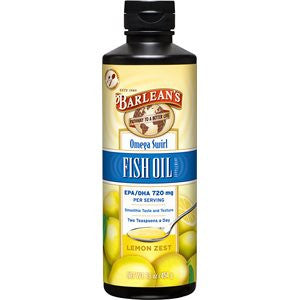 FISH OIL OMEGA SWIRL LEMON ZEST FLAVOR (16oz/8oz)