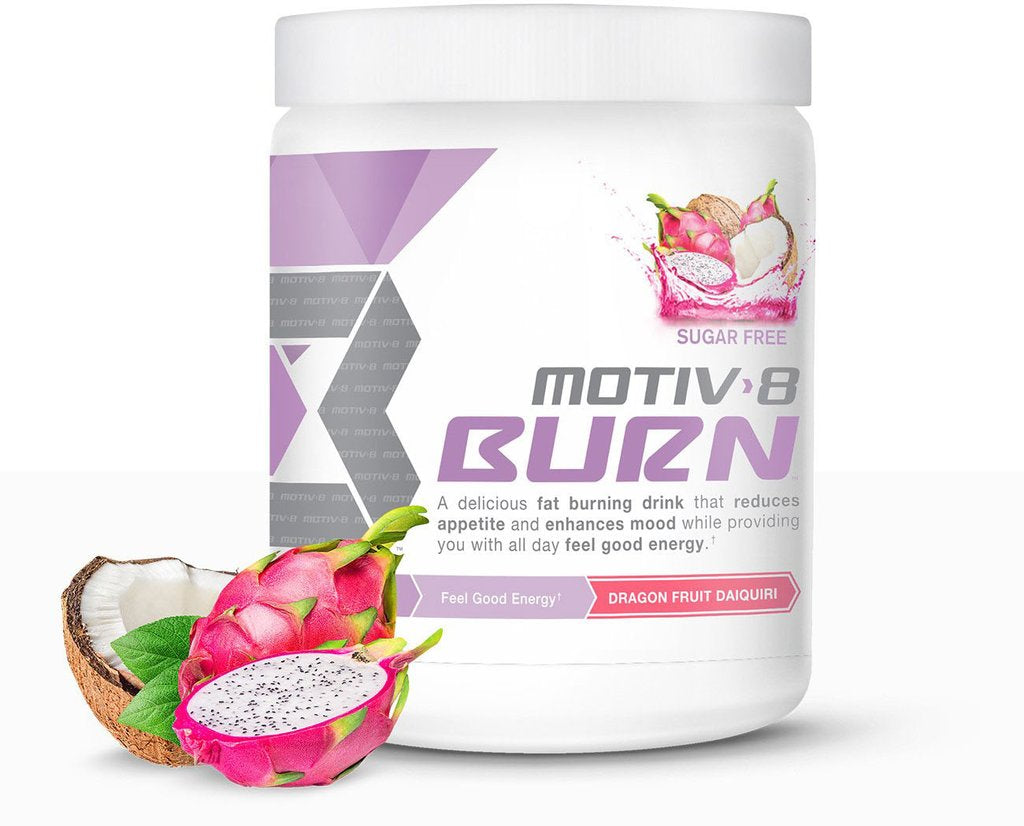 Motiv8 Burn Preworkout Fat Burning Powder 30servings [SELECT FLAVOR]