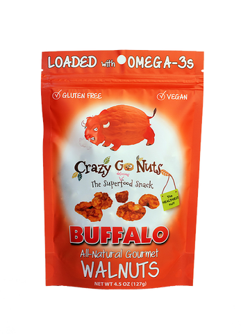 Crazy Go Nuts Buffalo Walnuts Bag