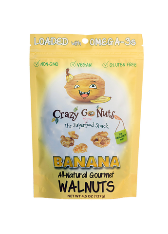 Crazy Go Nuts Banana Walnuts Bag