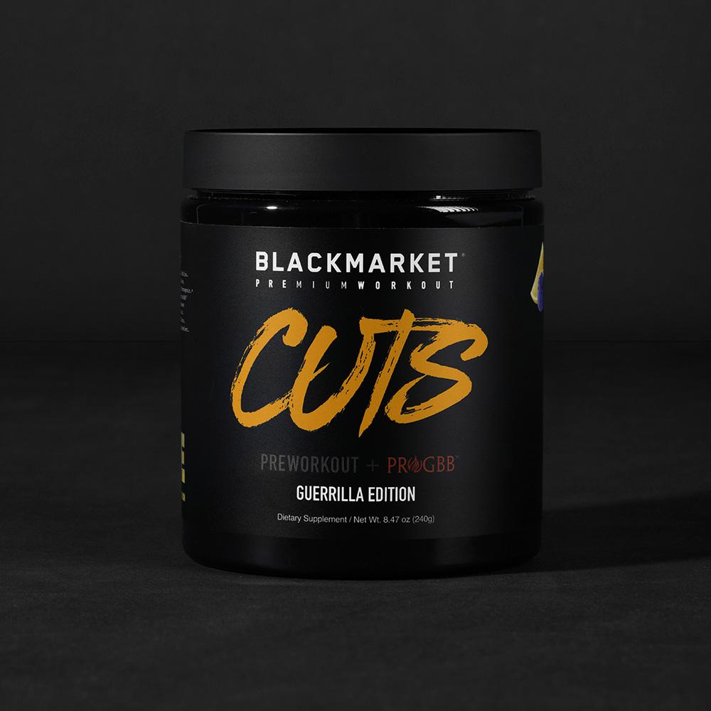 Black Market Labs - Cuts Guerrilla Edition - Pre-Workout