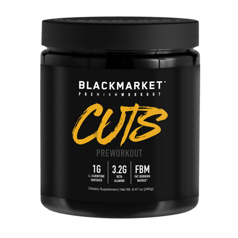 Black Market Labs - Cuts - Pre-Workout