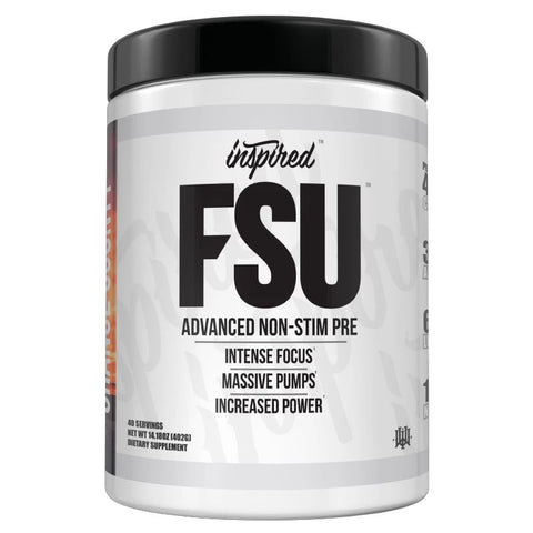 NEW FSU - Non Stim Pump Pre-Workout