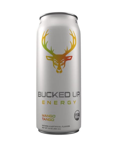 Bucked Up Energy Drink - Low Stim RTD  (Select Flavor)