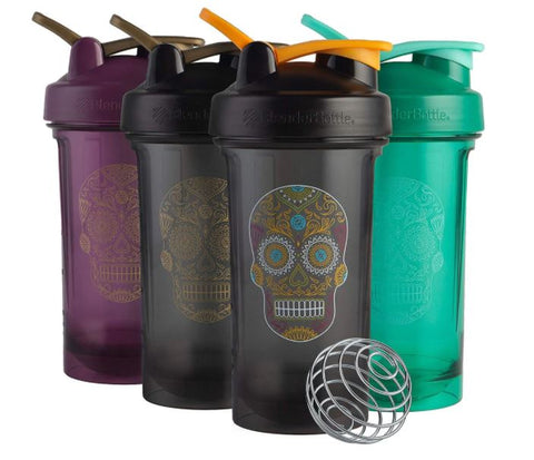 BlenderBottle 24oz Sugar Skull Series Shaker cup (Select Bottle)