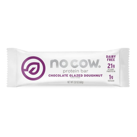 No Cow Chocolate Glazed Doughnut Non Dairy Protein Bar