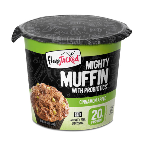 FlapJacked Mighty Muffin Cinnamon Apple