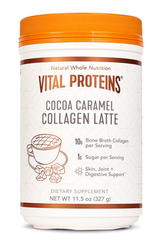 Vital Proteins Cocoa Caramel Collagen Latte
