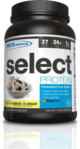 PEScience Select Protein Cookie N' Cream