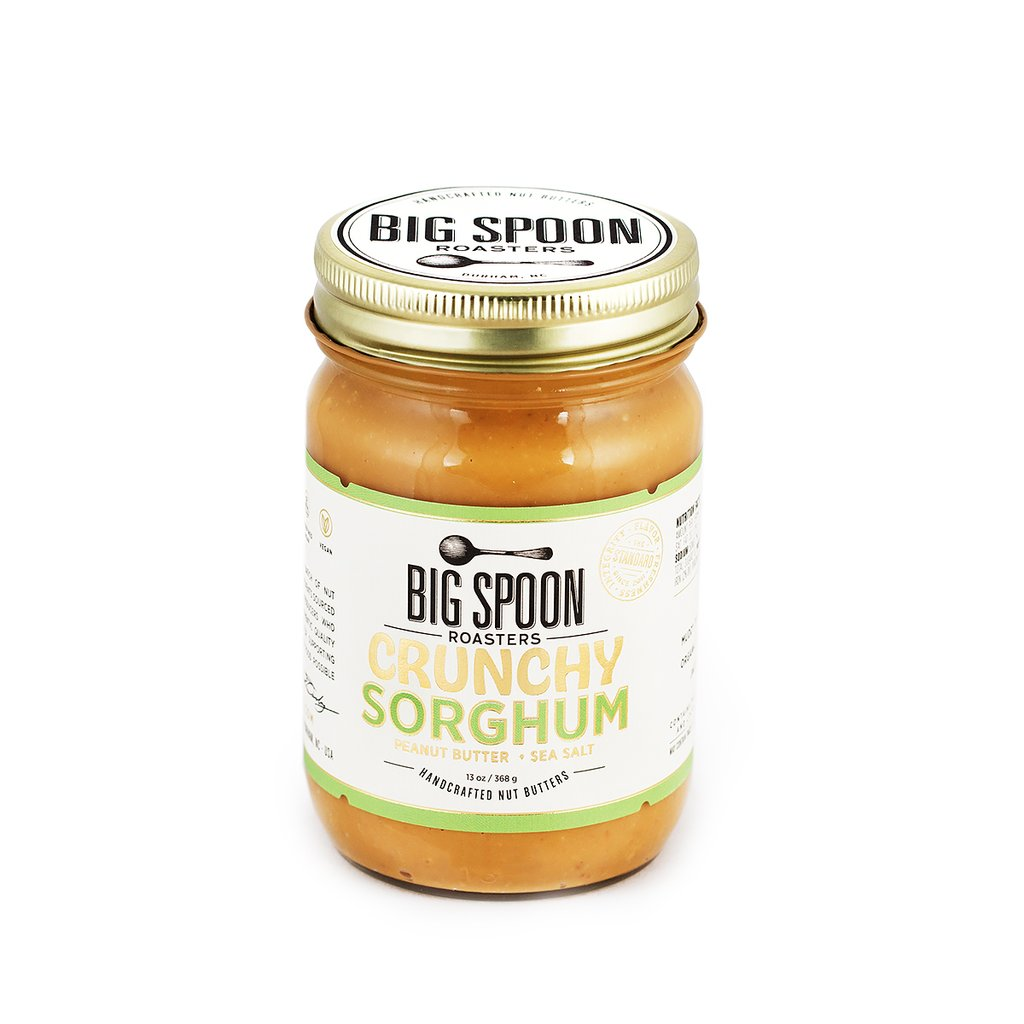 Big Spoon Roasters Crunchy Sorghum Peanut Butter