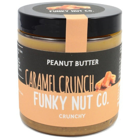 Funky Nut Co. Caramel Crunch Peanut Butter