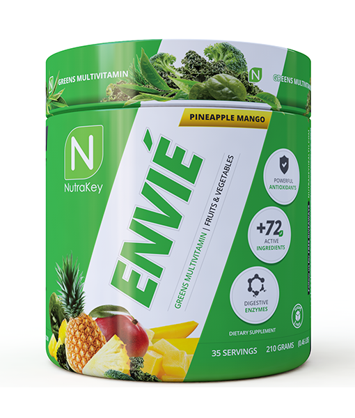 NutraKey Envie Greens Powdered Multivitamin (Select Flavor)