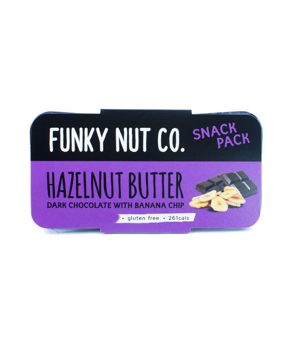 Funky Nut Co. Snack Pack Hazelnut Butter