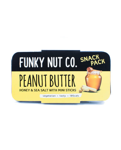 Funky Nut Co. Snack Pack Peanut Butter