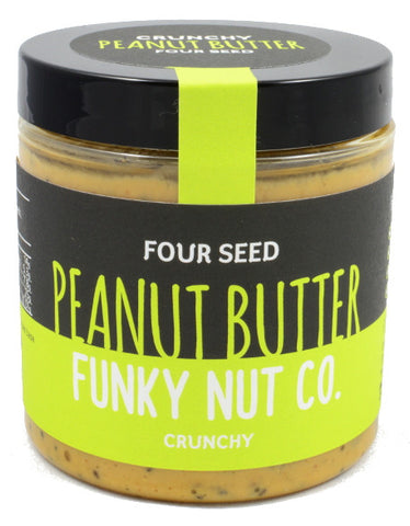 Funky Nut Co. Four Seed Peanut Butter