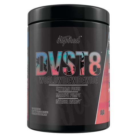 NEW DVST8 Worldwide Pre-Workout (Select Flavor)