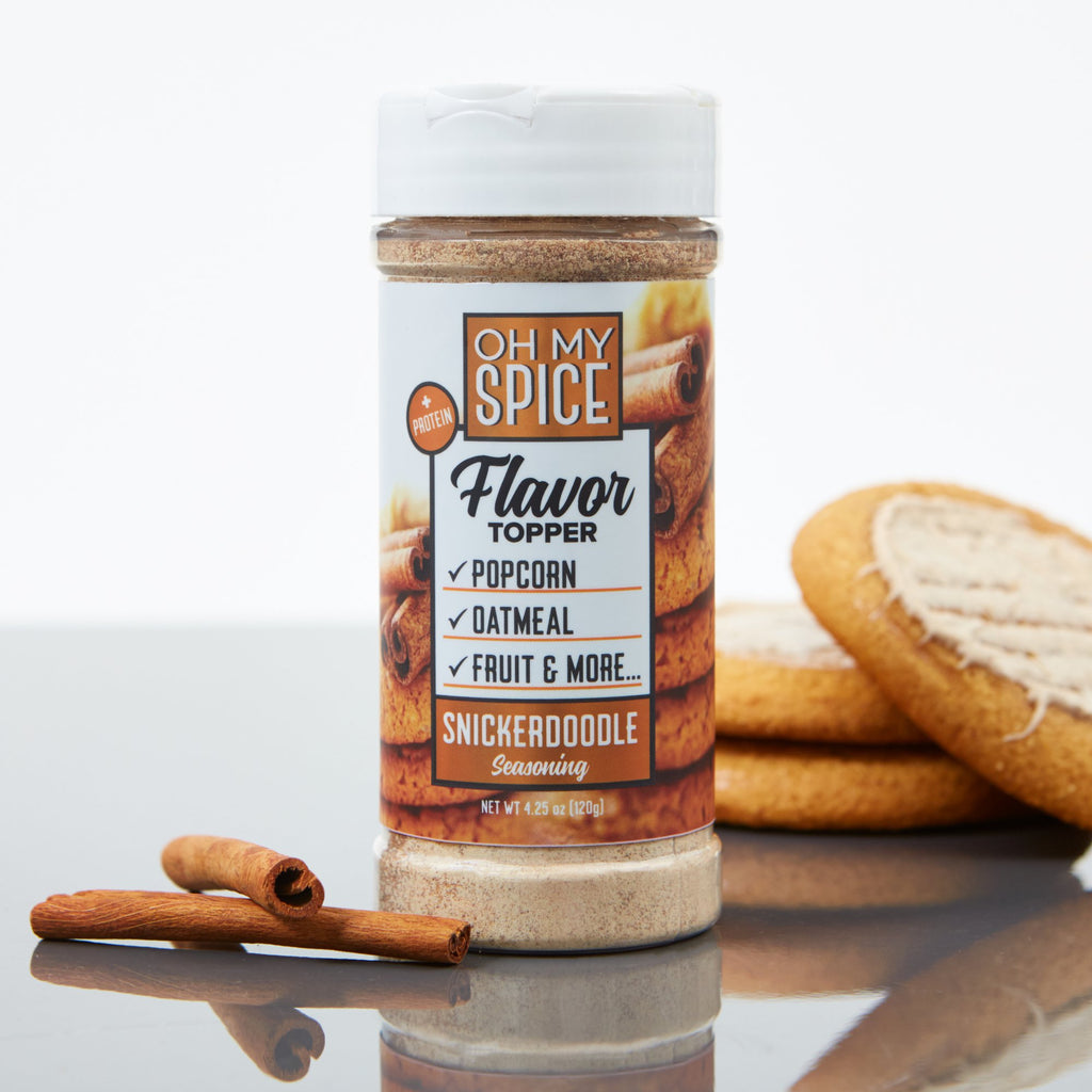 Oh My Spice Snickerdoodle Flavor Topper