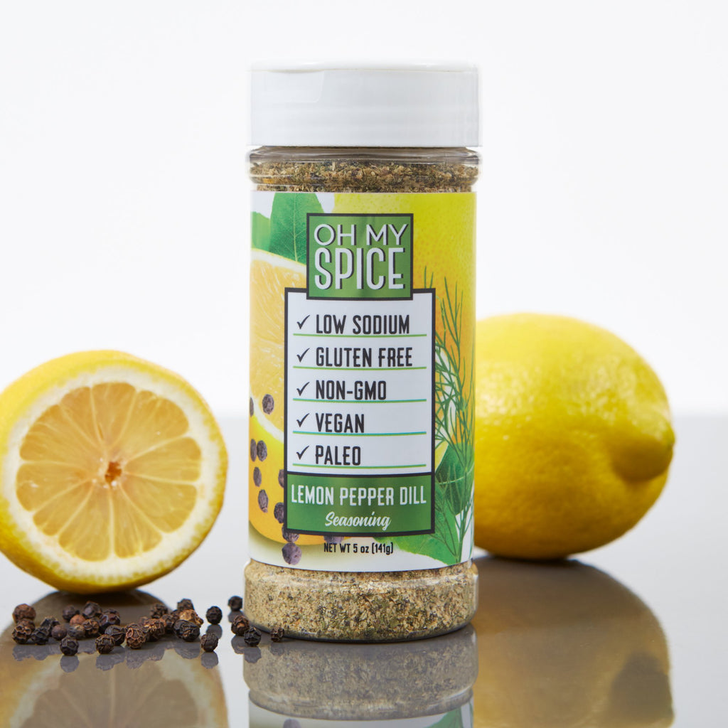 Oh My Spice Lemon Pepper Dill Seasoning