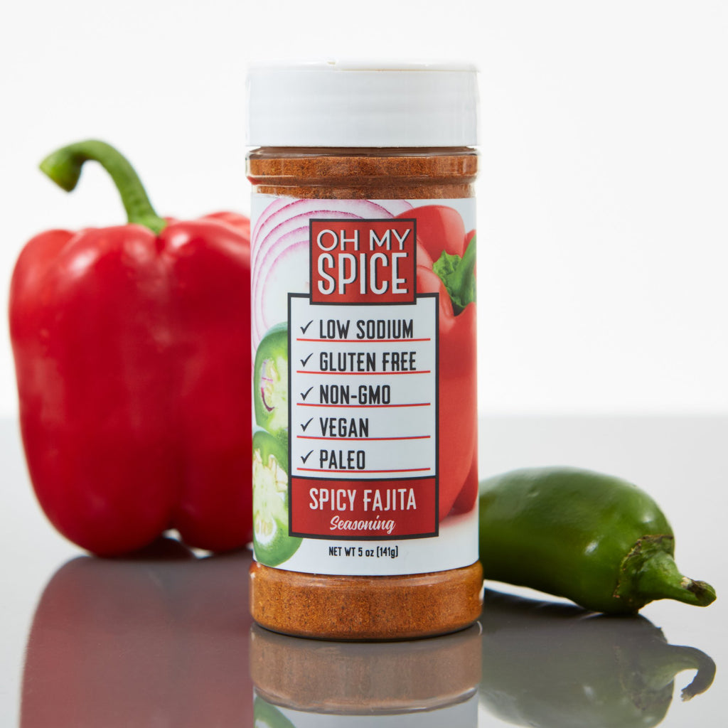 Oh My Spice Spicy Fajita Seasoning