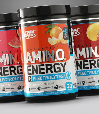 Optimum Nutrition Essential Amino Energy + Electrolytes 30srv (Select Flavor)