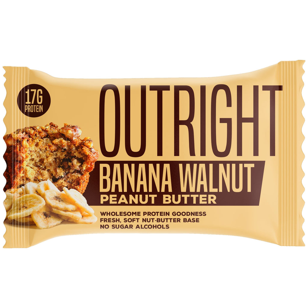 Outright Bar - Banana Walnut Peanut Butter Real Food Protein Bar