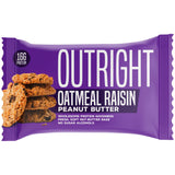 Outright Bar - Oatmeal Raisin Peanut Butter Real Food Protein Bar