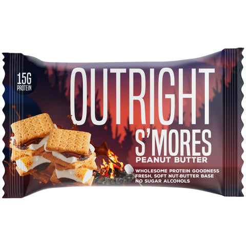 Outright Bar - S'mores Peanut Butter Real Food Protein Bar