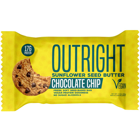 Outright Bar - Chocolate Chip Sunflower Seed Butter Real Food Protein Bar