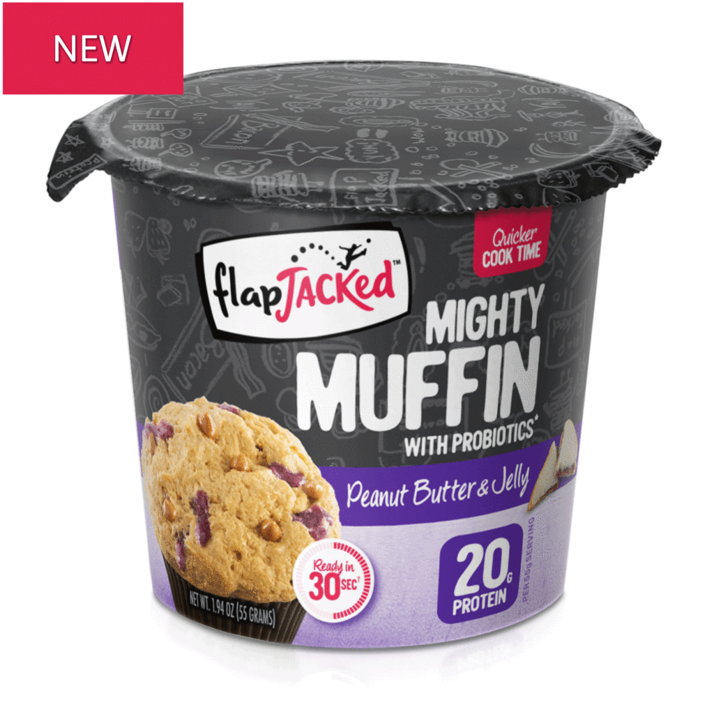 FlapJacked Mighty Muffin Peanut Butter & Jelly